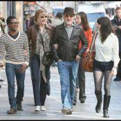 Steven Spielberg, sa femme Kate Capshaw, et leurs enfants... en shopping à Paris !