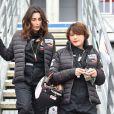 """Exclusif - Agnès Boulard (Mademoiselle Agnès), Emma de Caunes - Course """"Talon Pointe by Abarth"""" au circuit Bugatti du Mans les 24 et 25 mars 2018."""
