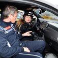 """Exclusif - Sonia Sieff et Gilles Panizzi - Course """"Talon Pointe by Abarth"""" au circuit Bugatti du Mans les 24 et 25 mars 2018."""