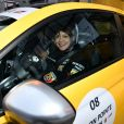 """Exclusif - Emma de Caunes - Course """"Talon Pointe by Abarth"""" au circuit Bugatti du Mans les 24 et 25 mars 2018."""