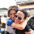 "Exclusif - Laurie Cholewa, Sandra Sisley - Course ""Talon Pointe by Abarth"" au circuit Bugatti du Mans les 24 et 25 mars 2018."