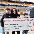 """Exclusif - Aïda Touihri et ses enfants - Course """"Talon Pointe by Abarth"""" au circuit Bugatti du Mans les 24 et 25 mars 2018."""
