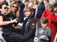 Sarah Lavoine fraîchement célibataire : Sortie sportive avec ses fils