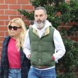 Exclusif - Busy Philipps et son mari Marc Silverstein font du shopping dans les rues de Beverly Hills, le 20 mars 2018