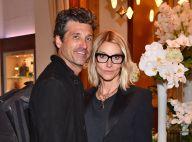Patrick Dempsey : Radieux avec sa femme Jillian à Cannes.. Séquence bisou !