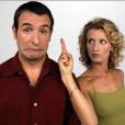 """""""Un gars, une fille"""" avec Audrey Lamy et Jean Dujardin, France 2"""
