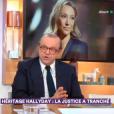 L'avocat Me Hervé Temime dans C à Vous le 13 avril 2018.