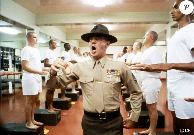 R. Lee Ermey dans Full Metal Jacket...