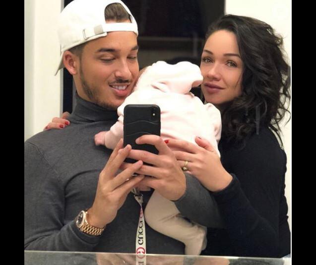 Jazz (Les Anges) et son amoureux Laurent sont parents d'une petite Chelsea depuis le 12 décembre 2017.