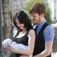 Sophie Ellis-Bextor et son mari Richard Jones présentent leur bébé
