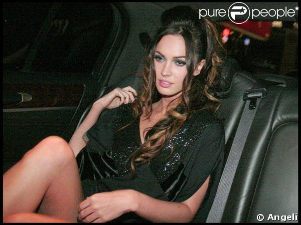 Megan Fox, divine comme à son habitude, lors de la soirée en l'honneur de Flora, la nouvelle fragrance de Gucci, le 31 mars 2009, au Château Marmont, à Los Angeles !