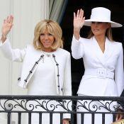 Brigitte Macron et Melania Trump : Premières dames et amies stylées