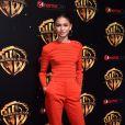 Zendaya à la soirée Warner Bros au CinemaCon 2018 à l'hôtel Caesar palace à Las Vegas, le 24 avril 2018