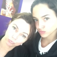 Jenaye Noah avec sa mère  Heather Stewart-Whyte  sur Instagram le 25 avril 2018.