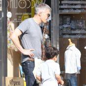 Olivier Martinez et son petit Maceo : Balade complice et shopping