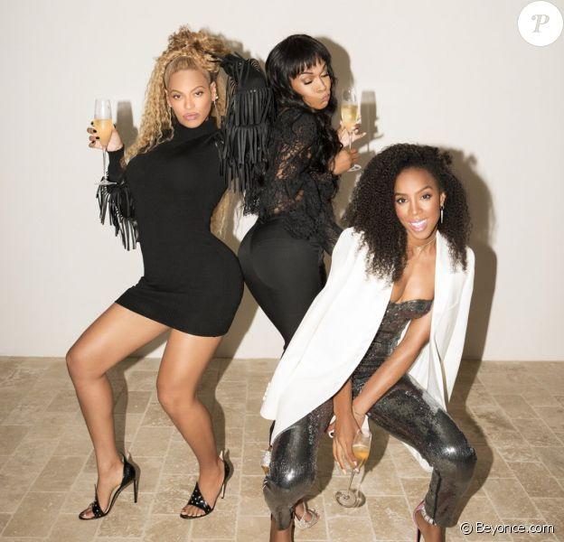 Beyoncé, Kelly Rowland et Michelle Williams ont assisté à la soirée d'inauguration de la boutique Dundas à Los Angeles. Le 24 avril 2018.