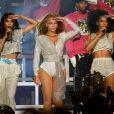 Michelle Williams, Beyoncé et Kelly Rowland à Coachella. Le 21 avril 2018.