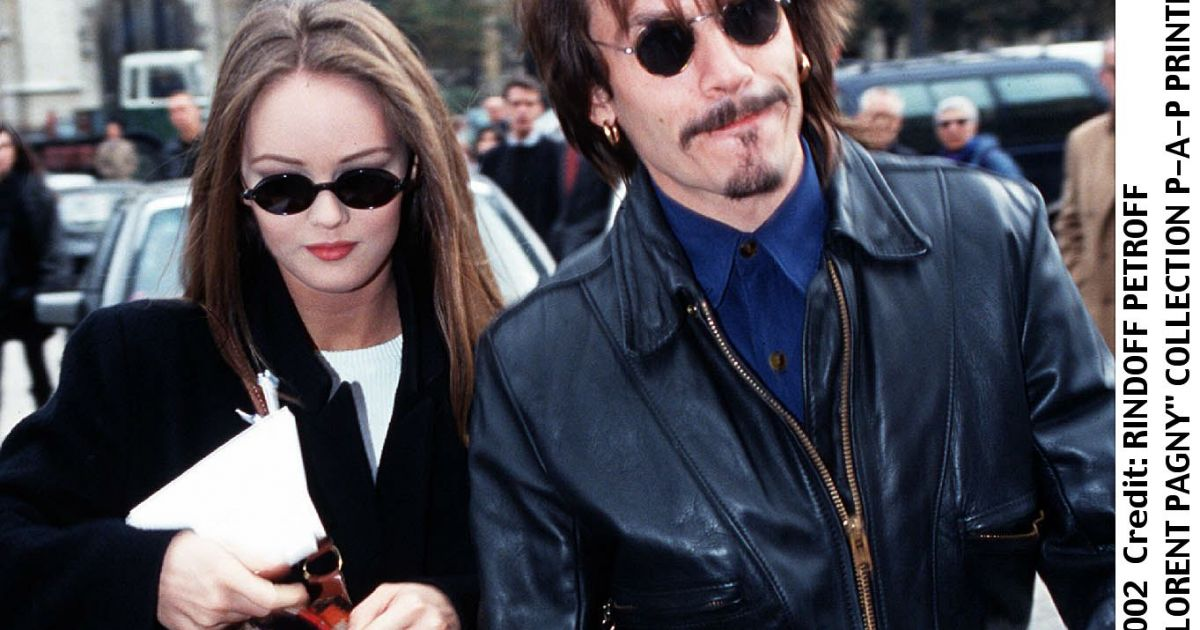 vanessa paradis et florent pagny paris en octobre 1991 purepeople. Black Bedroom Furniture Sets. Home Design Ideas