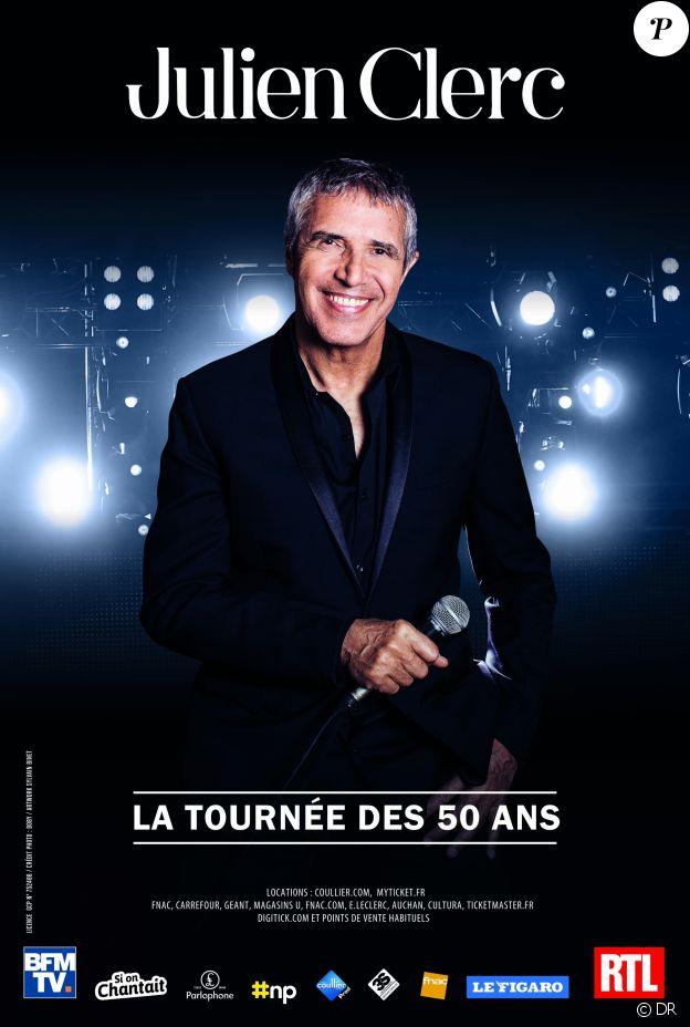 Julien Clerc - La Tournée des 50 ans - 2018.