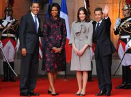 """Nicolas Sarkozy reçoit pour la première fois son """"copain"""" le président Obama, pendant que Carlita et Michelle... se régalent !"""