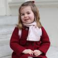 La princesse Charlotte de Cambridge photographiée par la duchesse Catherine de Cambridge en janvier 2018 au palais de Kensington, au matin de son premier jour à la crèche. © Duchesse Catherine de Cambridge