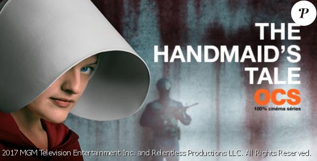 """Elisabeth Moss dans """"The Handmaid's Tale : La Servante écarlate"""". La saison 1 est disponible sur OCS et la saison 2 est diffusée en US+24"""