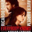"""Javier Bardem et Penélope Cruz dans """"Everybody Knows"""" qui fera l'ouverture du Festival de Cannes, le 8 mai 2018."""