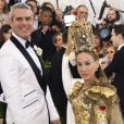 Andy Cohen et sa femme Sarah Jessica Parker - Les célébrités arrivent à l'ouverture de l'exposition Heavenly Bodies: Fashion and the Catholic Imagination à New York, le 7 mai 2018