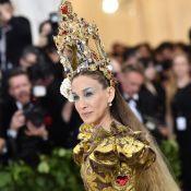 Sarah Jessica Parker : Reine du Met Gala... avec une crèche sur la tête !