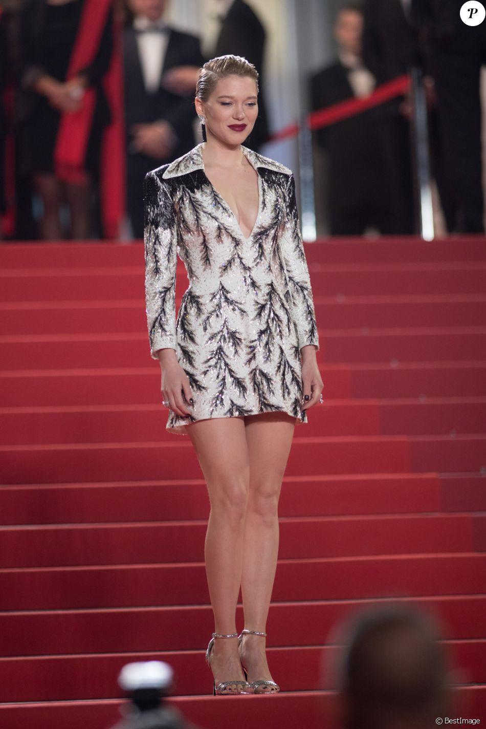 Léa Seydoux (robe Louis Vuitton) - Montée des marches du film « Cold War » lors du 71ème Festival International du Film de Cannes. Le 10 mai 2018 © Borde-Jacovides-Moreau/Bestimage