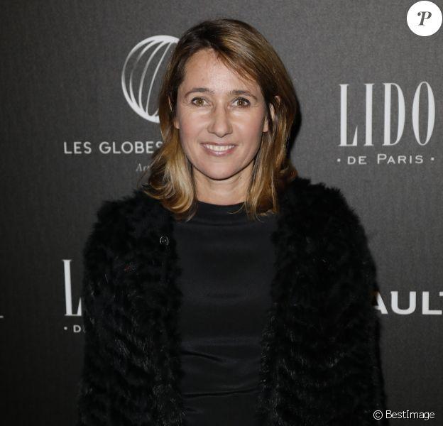Alexia Laroche-Joubert - Photocall - 12ème cérémonie des Globes de Cristal au Lido à Paris, le 12 février 2018. © Rachid Bellak / Bestimage