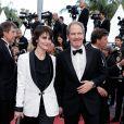 Géraldine Pailhas et son mari Christopher Thompson - Montée des marches du film «Le Grand Bain» lors du 71ème Festival International du Film de Cannes. Le 13 mai 2018 © Borde-Jacovides-Moreau/Bestimage