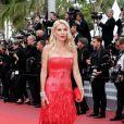 Eleni Mengaki - Montée des marches du film «Le Grand Bain» lors du 71ème Festival International du Film de Cannes. Le 13 mai 2018 © Borde-Jacovides-Moreau/Bestimage