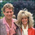 Farrah Fawcett et Ryan O'Neal en 1984