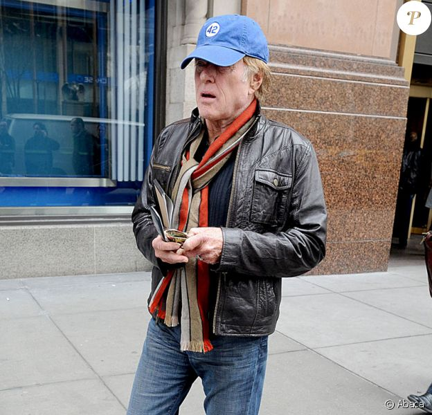 Robert Redford à Manhattan le 16 mars 2009