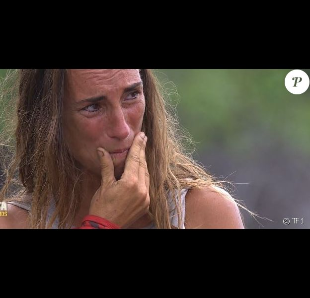 """Nathalie dans """"Koh-Lanta : Le combat des héros"""" (M6) vendredi 18 mai 2018."""