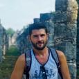 Christophe Beaugrand à Chichen Itza (Mexique) fin décembre 2017.