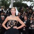 "Toni Garrn, portant des bijoux Messika, lors de la montée des marches du film "" Burning "" lors du 71ème Festival International du Film de Cannes. Le 16 mai 2018 © Borde-Jacovides-Moreau/Bestimage"