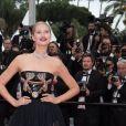 """Toni Garrn, parée de bijoux Messika, le soir de la montée des marches du film """" Burning """" lors du 71ème Festival International du Film de Cannes. Le 16 mai 2018 © Borde-Jacovides-Moreau/Bestimage"""