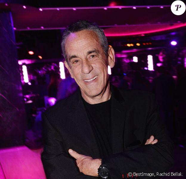Exclusif - Thierry Ardisson - After-party du film Brillantissime à la discothèque L'Arc à Paris, France, le 15 janvier 2018.© Rachid Bellak/Bestimage