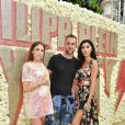 "Philipp Plein, sa compagne Morgan Osman et sa soeur Gloria Sarah Dieth - Les célébrités lors de la présentation de la collection Dynasty 2019 du créateur Philipp Plein dans sa villa ""La Jungle du Roi"" pendant le 71ème Festival International du Film de Cannes, France, le 16 mai 2018."