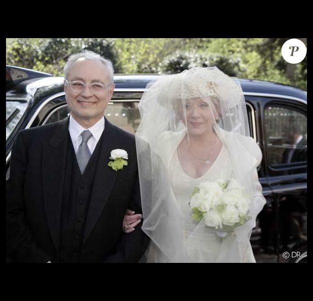 Françoise Laborde et son mari Jean-Claude Paris