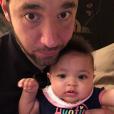 Alexis Olympia et son père Alexis Ohanian Sr. Mars 2018.
