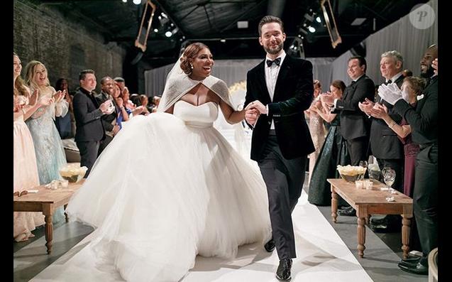 Mariage de Serena Williams et Alexis Ohanian Sr. à la Nouvelle,Orléans. Le
