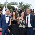 "Samy Naceri et sa compagne Marie, son frère Larbi Naceri - Montée des marches du film "" Ahlat Agaci "" lors du 71ème Festival International du Film de Cannes. Le 18 mai 2018 © Borde-Jacovides-Moreau/Bestimage"