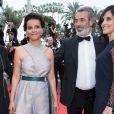 Najat Vallaud Belkacem et guest - Montée des marches du film «Ahlat Agaci» lors du 71ème Festival International du Film de Cannes. Le 18 mai 2018 © Borde-Jacovides-Moreau/Bestimage