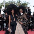 Miriam Odemba - Montée des marches du film «Ahlat Agaci» lors du 71ème Festival International du Film de Cannes. Le 18 mai 2018 © Borde-Jacovides-Moreau/Bestimage
