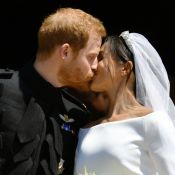 Mariage du prince Harry et Meghan Markle : LE baiser, fous d'amour à l'église...