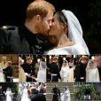Photomontage : Mariage du prince Harry et de Meghan Markle le 19 mai 2018 à Windsor