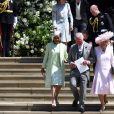 La princesse Charlotte de Cambridge, qui était avec sa mère la duchesse Catherine et tenait le rôle de flowergirl au mariage du prince Harry et de Meghan Markle, duc et duchesse de Sussex, le 19 mai 2018 à Windsor, a fait sensation ! Mignonne et facétieuse, le public a craqué...